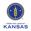From the land of kansas logo